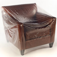Polythene furniture covers